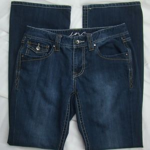 INC International Concepts Blue Jeans Boot Cut 6